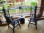 プーケット ファミリー&グループのホテル : カオラック メルリン リゾート(Khaolak Merlin Resort)のスーペリア(シングル)ルームの設備 Balcony