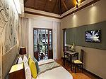 プーケット カップル&ハネムーンのホテル : カオラック メルリン リゾート(Khaolak Merlin Resort)のスーペリア(ツイン/ダブル)ルームの設備 Bedroom