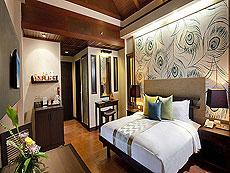 プーケット ファミリー&グループのホテル : カオラック メルリン リゾート(1)のお部屋「スーペリア(ツイン/ダブル)」