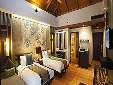 プーケット ファミリー&グループのホテル : カオラック メルリン リゾート(1)のお部屋「デラックス」