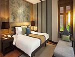 プーケット ファミリー&グループのホテル : カオラック メルリン リゾート(Khaolak Merlin Resort)のプールアクセス(シングル)ルームの設備 Bedroom