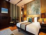 プーケット ファミリー&グループのホテル : カオラック メルリン リゾート(Khaolak Merlin Resort)のプール アクセス(ダブル)ルームの設備 Bedroom