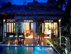 プーケット カップル&ハネムーンのホテル : カオラック メルリン リゾート(1)のお部屋「2ベッドルームプールヴィラ」