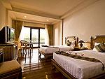 プーケット カオラックのホテル : カオ ラック モヒン タラ ホテル(Khaolak Mohin Tara Hotel)のスーペリアルームの設備 Bedroom