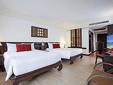 プーケット ビーチフロントのホテル : センタラ シービュー リゾート カオ ラック(1)のお部屋「デラックス オーシャン フェイシング」
