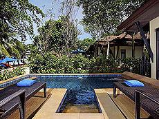 プーケット ビーチフロントのホテル : センタラ シービュー リゾート カオ ラック(1)のお部屋「ビーチウィング デラックス プール ビラ」