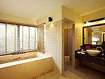 プーケット ビーチフロントのホテル : センタラ シービュー リゾート カオ ラック(Centara Seaview Resort Khao Lak)のラグジュアリー プール ヴィラルームの設備 Bathroom