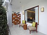 プーケット ビーチフロントのホテル : センタラ シービュー リゾート カオ ラック(Centara Seaview Resort Khao Lak)のファミリー レジデンスルームの設備 Terrace