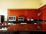 プーケット ヴィラコテージのホテル : センタラ シービュー リゾート カオ ラック(Centara Seaview Resort Khao Lak)のデラックス 2ベッドルーム ファミリー レジデンスルームの設備 Kitchen