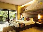 プーケット カップル&ハネムーンのホテル : カオ ラック ワナブリー リゾート(Khao Lak Wanaburee Resort)のマノア ヴィラ シービュールームの設備 Room View