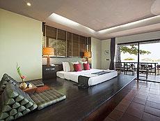 プーケット カップル&ハネムーンのホテル : カオ ラック ワナブリー リゾート(1)のお部屋「ランデブー ビーチフロント」
