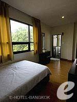 バンコク ファミリー&グループのホテル : カオサン パーク リゾート(Khaosan Park Resort)のシングルルームの設備 Bedroom