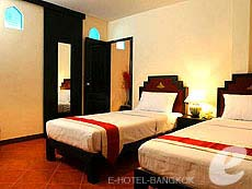 バンコク ファミリー&グループのホテル : カオサン パーク リゾート(Khaosan Park Resort)のお部屋「シングル」