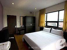 バンコク ファミリー&グループのホテル : カオサン パーク リゾート(Khaosan Park Resort)のお部屋「ダブル」
