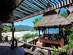 サムイ島 タオ島のホテル : コ タオ カバナ 「Restaurant」