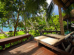 Sea view from Terrace : Koh Tao Cabana, Beach Front, Phuket