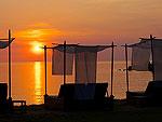 サムイ島 タオ島のホテル : コ タオ カバナ 「Sunset」