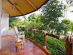サムイ島 タオ島のホテル : コ タオ カバナ(Koh Tao Cabana)のホワイトサンド ヴィラ ツリートップス ヴィラルームの設備 Terrace