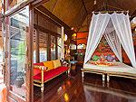 サムイ島 タオ島のホテル : コ タオ カバナ(Koh Tao Cabana)のホワイトサンド ヴィラ ビーチフロント スイート Jug Laeルームの設備 Bedroom