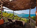 サムイ島 タオ島のホテル : コ タオ カバナ(Koh Tao Cabana)のホワイトサンド ヴィラ ビーチフロント スイート Jug Laeルームの設備 Terrace