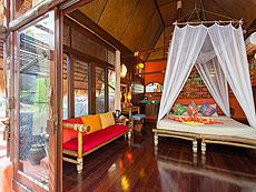 サムイ島 タオ島のホテル : コ タオ カバナ(1)のお部屋「ホワイトサンド ヴィラ ビーチフロント スイート Jug Lae」