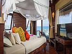 サムイ島 タオ島のホテル : コ タオ カバナ(Koh Tao Cabana)のコテージ ヴィラ オーシャン ビュー ヴィラルームの設備 Bath Room