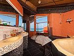 サムイ島 タオ島のホテル : コ タオ カバナ(Koh Tao Cabana)のコテージ ヴィラ オーシャン ビュー ヴィラルームの設備 Bathroom