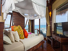 サムイ島 タオ島のホテル : コ タオ カバナ(1)のお部屋「コテージ ヴィラ オーシャン ビュー ヴィラ」