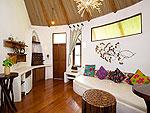 サムイ島 タオ島のホテル : コ タオ カバナ(Koh Tao Cabana)のホワイトサンド ヴィラ ガーデンンビュー ヴィラルームの設備 Room View