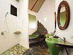 サムイ島 タオ島のホテル : コ タオ カバナ(Koh Tao Cabana)のホワイトサンド ヴィラ ガーデンンビュー ヴィラルームの設備 Bathroom