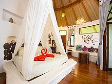 サムイ島 タオ島のホテル : コ タオ カバナ(1)のお部屋「ホワイトサンド ヴィラ ガーデンンビュー ヴィラ」
