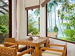 サムイ島 タオ島のホテル : コ タオ カバナ(Koh Tao Cabana)のホワイトサンド ヴィラ サラ ヴィラルームの設備 Living Room