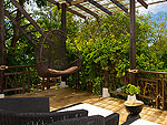 サムイ島 タオ島のホテル : コ タオ カバナ(Koh Tao Cabana)のホワイトサンド ヴィラ サラ ヴィラルームの設備 Terrace