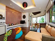 サムイ島 タオ島のホテル : コ タオ カバナ(1)のお部屋「ホワイトサンド ヴィラ サラ ヴィラ」