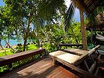 サムイ島 タオ島のホテル : コ タオ カバナ(Koh Tao Cabana)のホワイトサンド ヴィラ オーシャンビュー スイート Chum-Pooルームの設備 Terrace