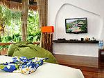 サムイ島 タオ島のホテル : コ タオ カバナ(Koh Tao Cabana)のホワイトサンド ヴィラ オーシャンビュー スイート Qwner Houseルームの設備 Room View