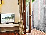 サムイ島 タオ島のホテル : コ タオ カバナ(Koh Tao Cabana)のホワイトサンド ヴィラ オーシャンビュー スイート Qwner Houseルームの設備 Living Room