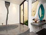 サムイ島 タオ島のホテル : コ タオ カバナ(Koh Tao Cabana)のホワイトサンド ヴィラ オーシャンビュー スイート Qwner Houseルームの設備 Bathroom