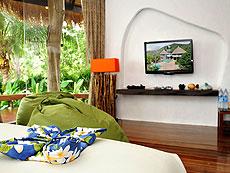 サムイ島 タオ島のホテル : コ タオ カバナ(1)のお部屋「ホワイトサンド ヴィラ オーシャンビュー スイート Qwner House」