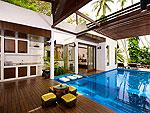 サムイ島 タオ島のホテル : コ タオ カバナ(Koh Tao Cabana)のホワイトサンド ヴィラ ビーチフロント ヴィラルームの設備 Swimming Pool