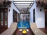 サムイ島 タオ島のホテル : コ タオ カバナ(Koh Tao Cabana)のホワイトサンド ヴィラ ビーチフロント ヴィラルームの設備 Terrace