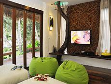 サムイ島 タオ島のホテル : コ タオ カバナ(1)のお部屋「ホワイトサンド ヴィラ ビーチフロント ヴィラ」