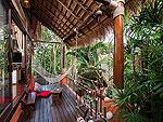 サムイ島 タオ島のホテル : コ タオ カバナ(Koh Tao Cabana)のホワイトサンド ヴィラ ビーチフロント スイート Koiルームの設備 Terrace