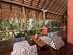 サムイ島 タオ島のホテル : コ タオ カバナ(Koh Tao Cabana)のホワイトサンド ヴィラ ビーチフロント スイート Ma-kamルームの設備 Terrace