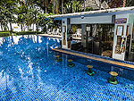 Poolside Bar : Koh Tao Montra Resort & Spa, Couple & Honeymoon, Phuket