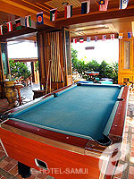Pool Table : Koh Tao Resort Paradise Zone, Koh Tao, Phuket