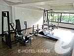 Fitness : Krabi Cha-Da Resort, Pool Access Room, Phuket