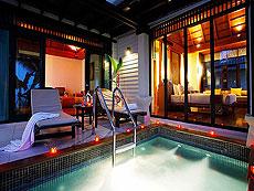 プーケット カオラックのホテル : ラ フローラ リゾート & スパ カオラック(1)のお部屋「ジャグジー ヴィラ」