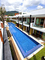 Swimming Pool : La Flora Resort Patong, 2 Bedrooms, Phuket