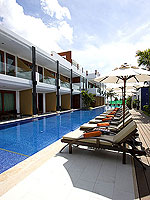 Poolside : La Flora Resort Patong, 2 Bedrooms, Phuket